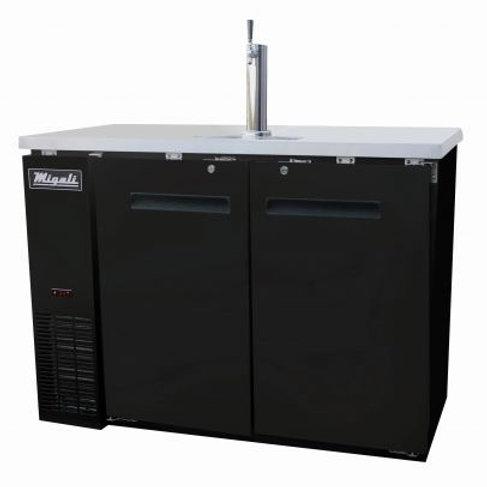 "Migali 48"" (2) Keg Direct Drawer Refrigerator C-DD48-2-HC"
