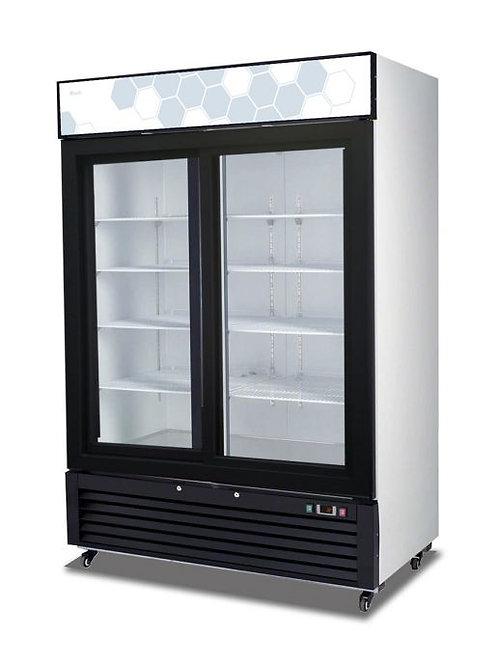 Migali 2 Sliding Doors Refrigerator C-49RS-HC