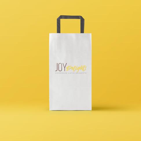 Paper Bag & Business Card Design + Print