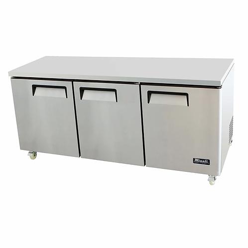 "Migali 72"" Wide Refrigerator C-U72R-HC"