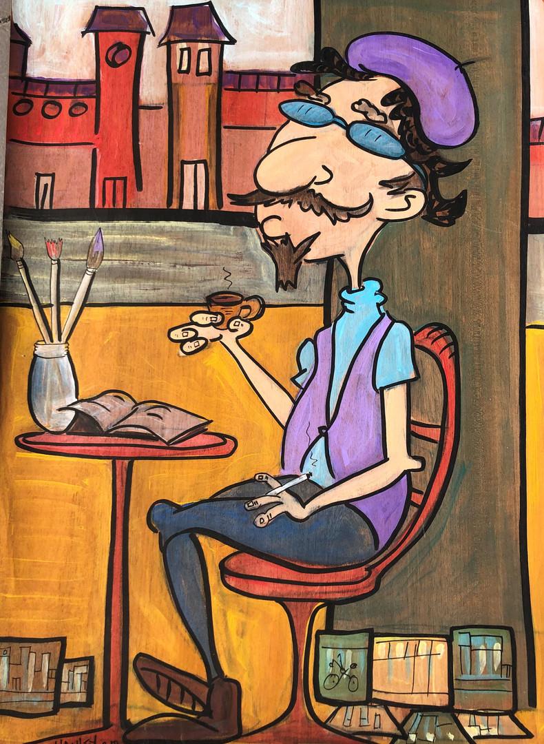 Parisian Artist / Original Painting