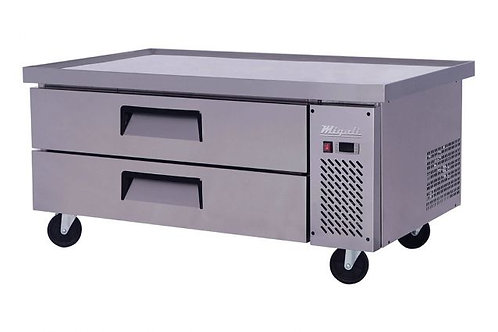 """Migali 52"""" Wide Chef Base Refrigerator w/ 60"""" extended top C-CB52-60-HC"""