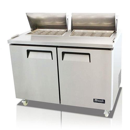 "Migali 60"" Wide Refrigerator, C-SP60-24BT-HC"
