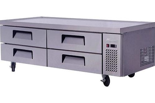 "Migali 72"" Wide Chef Base Refrigerator C-CB-72-HC"