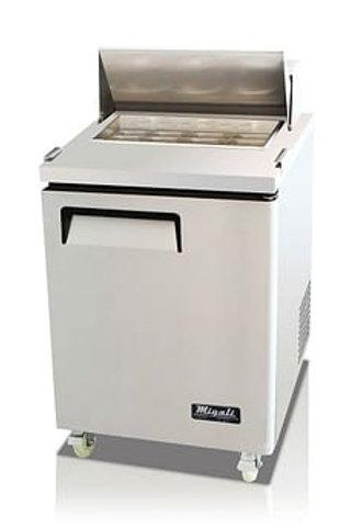 "Migali 27"" Wide Refrigerator C-SP27-8-HC"