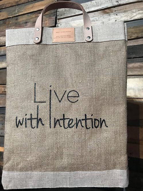 Live With Intention Bag