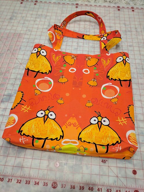 Birdz  2 by 2 | Shopping Bag | Lined