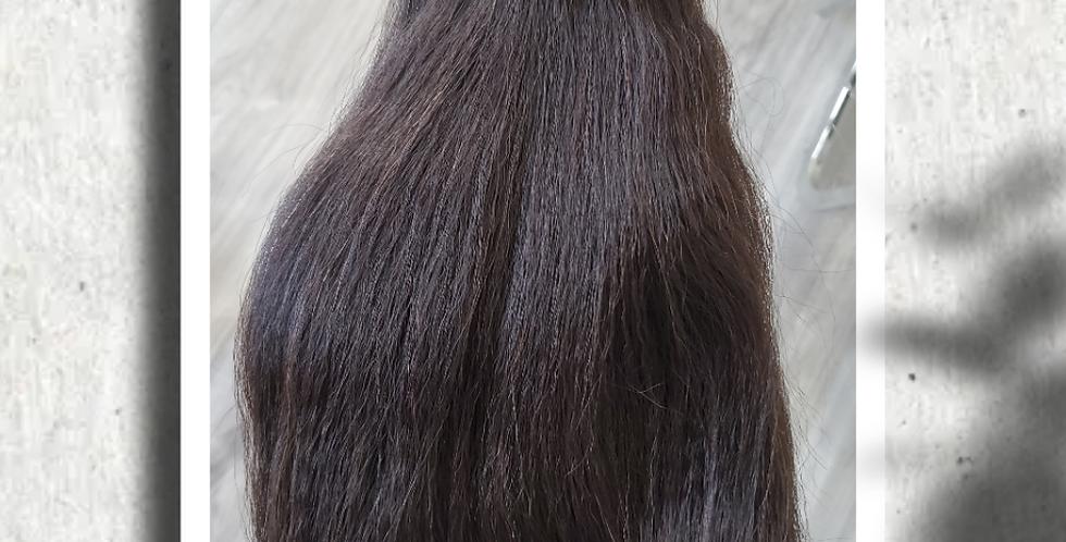Kinky straight cambodian hair