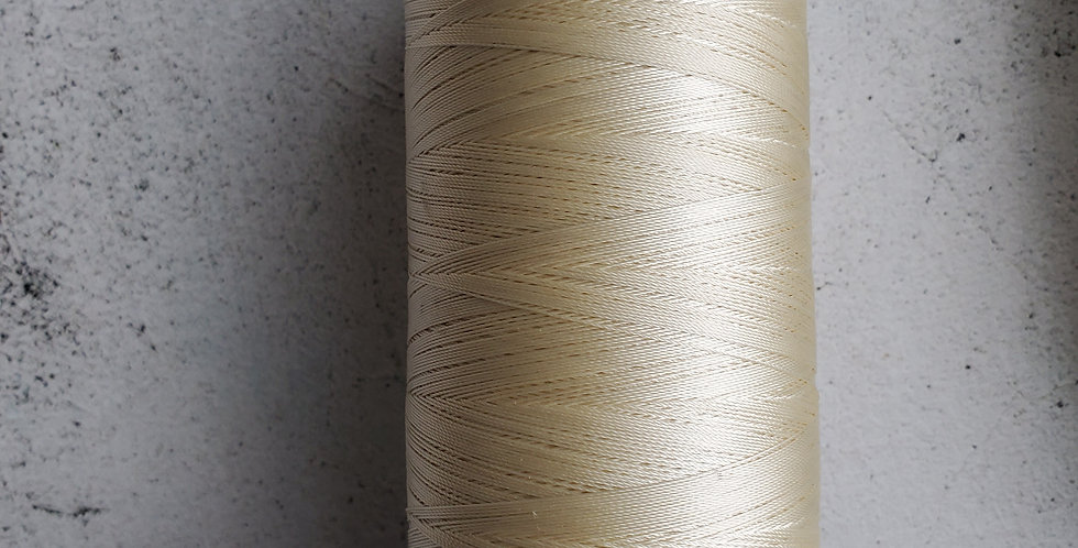 Blonde nylon thread