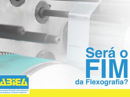 Será o fim da Flexografia?
