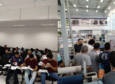 ABIEA promove curso de aperfeiçoamento técnico para operadores de equipamentos