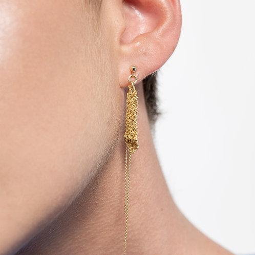 Aviv Earrings Gold 14k