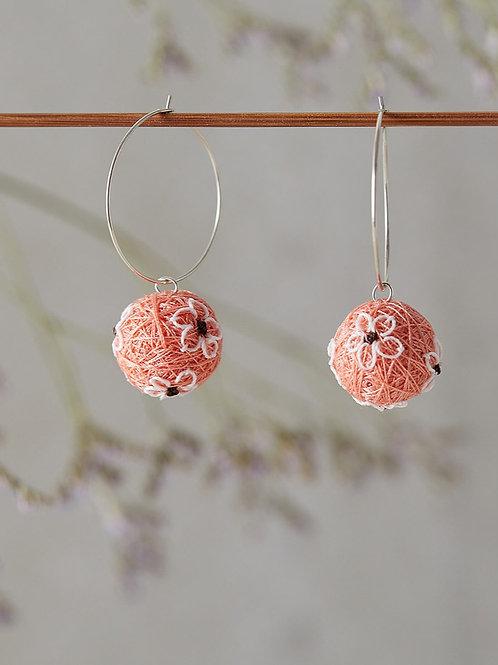 Venus Earrings Coral
