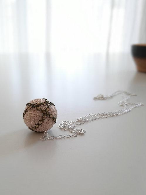 Ivory Stripes Necklace