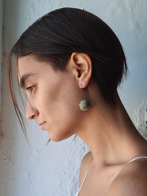 Venus Earrings Olive