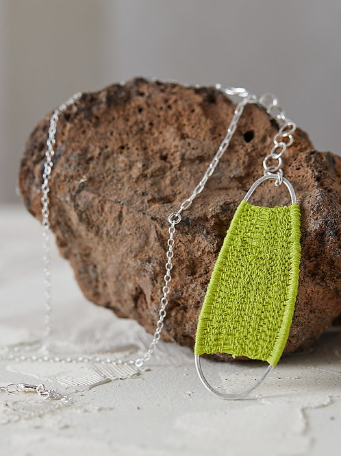 Alba necklace Lime