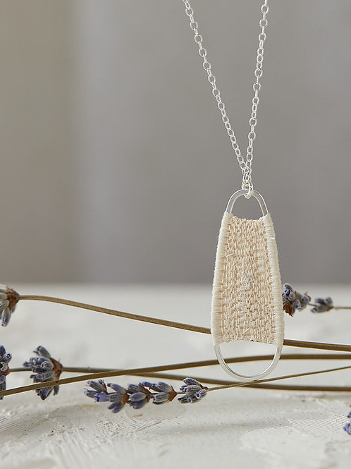 Small Alba necklace Ivory