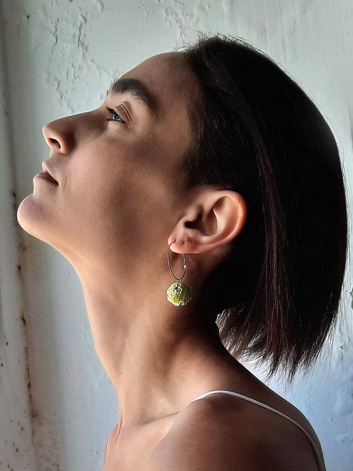 Venus Earrings Lime