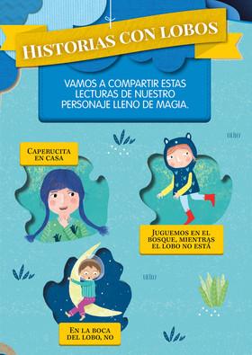 """School Book """"Antología Historia con lobos"""""""