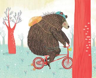 "Ilustracion ""El viaje"". Ganadora del premio ilustracion en la III Bienal de diseño de la FADU/UBA"