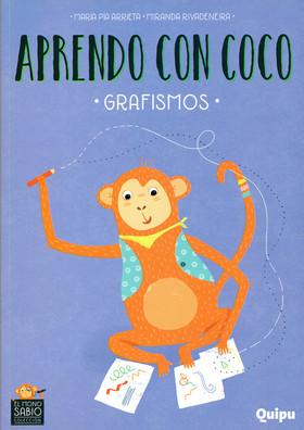 """School book """"Aprendo con Coco grafismos"""""""