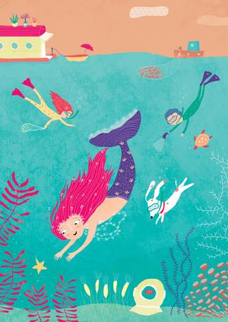 """Ilustracion para libro """"Bazar"""""""