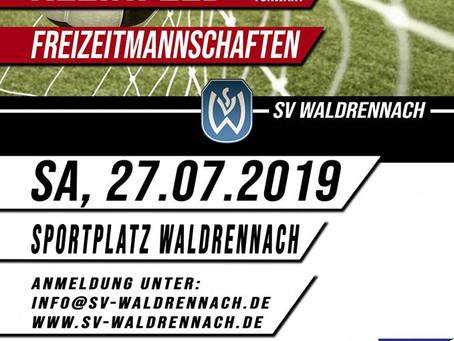 12. Fußballturnier beim SV Waldrennach