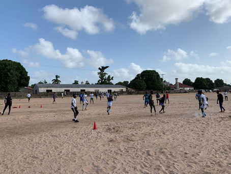 Sportverein Waldrennach sucht Trikots für Gambische Fußballer