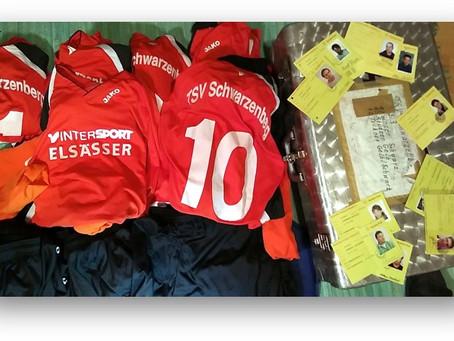Weitere Fußballvereine unterstützen wesentlich die Aktion des SVW