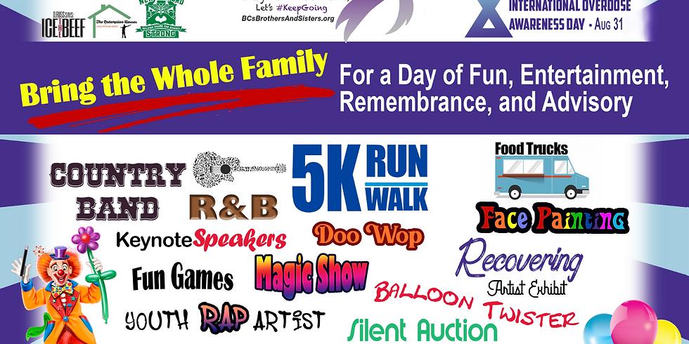 Sgt. Scoular's 5k Awareness Run & Recovery Festival