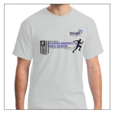 5K Awareness Event Shirt