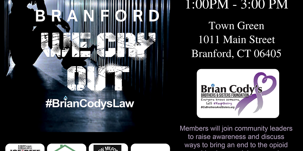 We Cry Out Rally - Branford, CT (4/18)