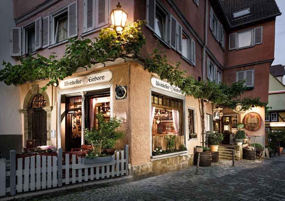 Weinkeller Einhorn, Esslingen, Germany.