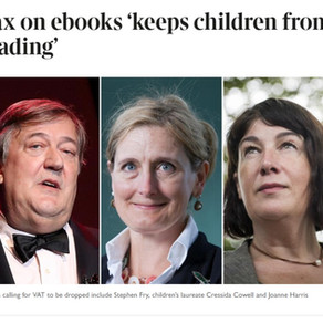 Over 600 Authors call for an end to the unfair tax on digital readers
