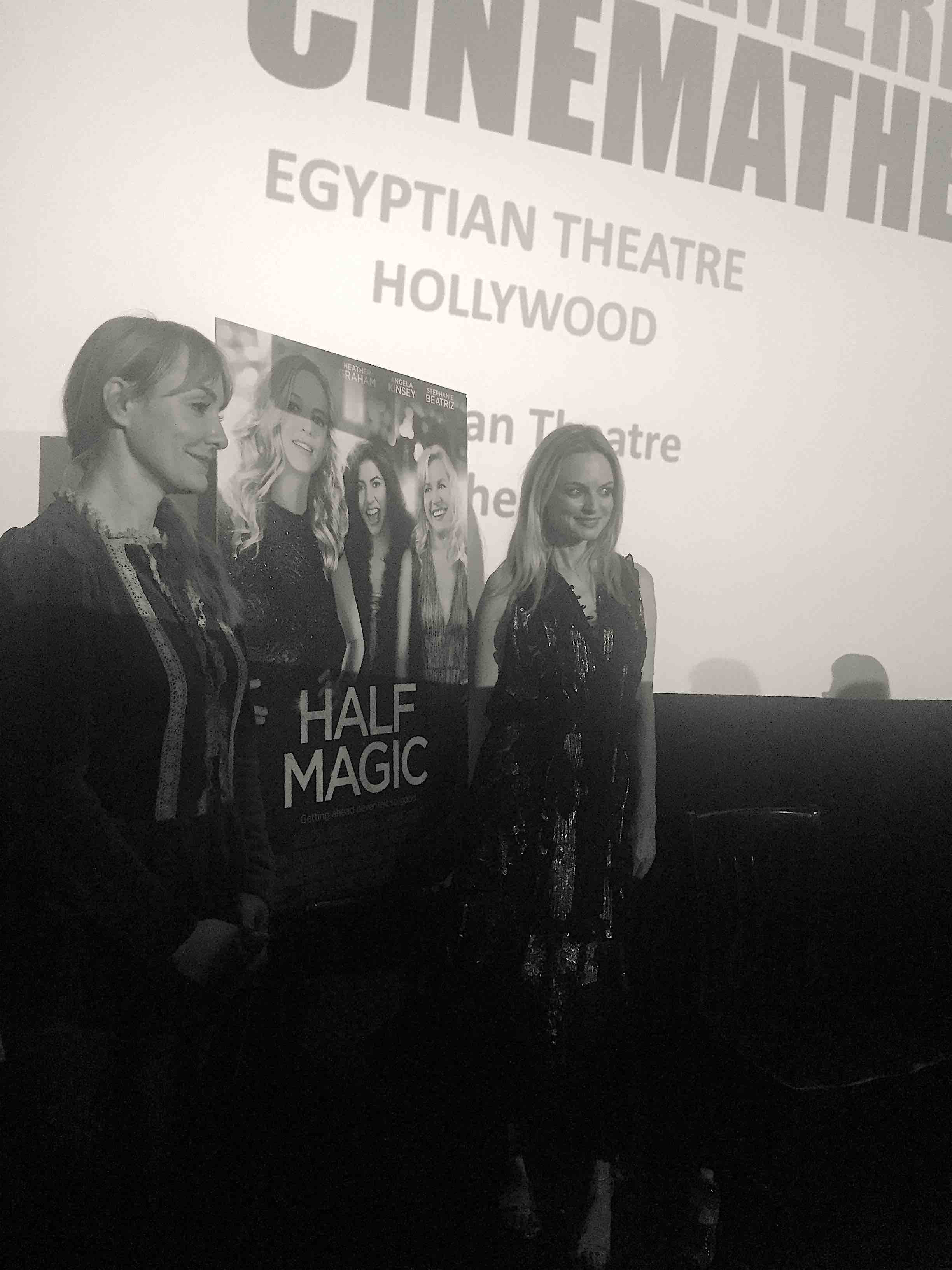 "Heather Graham's writing and directing debut feature ""Half Magic."""