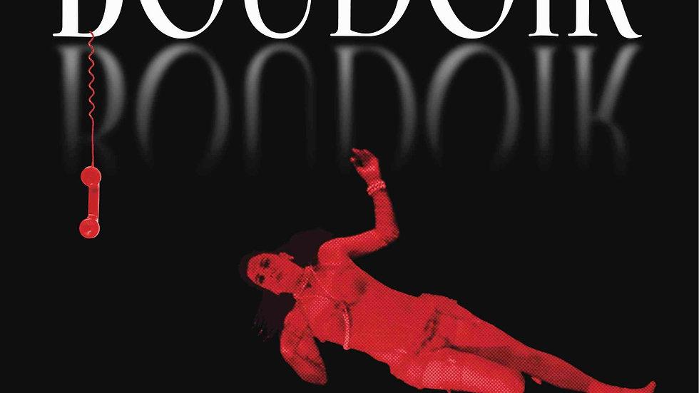 BOUDOIR poster, BLACK