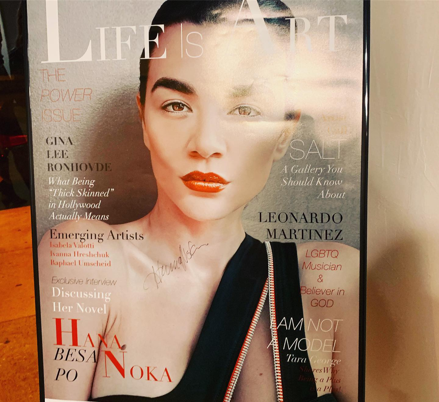Life is Art Magazine