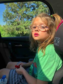 Hadley in Armani Lipstick