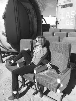Plane Seats in Mohave Desert