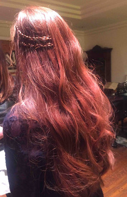 Real Hair Color
