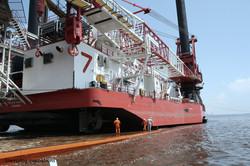 Large Subsea 7 Liftboat