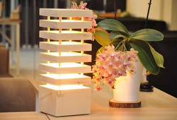 Zirbenlampe Wohnzimmer Lampe