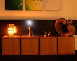 Zirbenlampe Nachttischlampe HolzGlanz