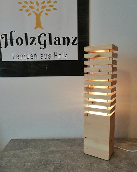 EINZELSTÜCK Stehlampe ZIRBE  12,5 x 17 x 68 cm