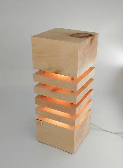Zirben LED Stehlampe 14,5 x 14,5 x 37cm