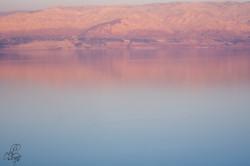 שקיעה על ים המלח