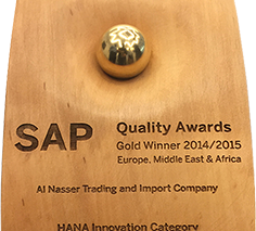 Al Nasser Won SAP Quality Award