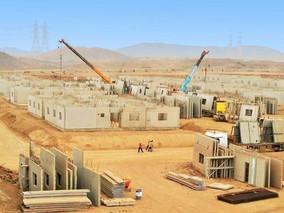 Al Nasser won MOI South border housing project, (lighting supply)