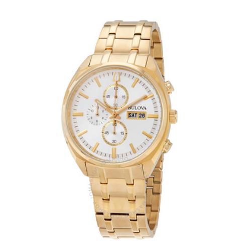 Bulova Classic Men's Gold Chronograph Watch