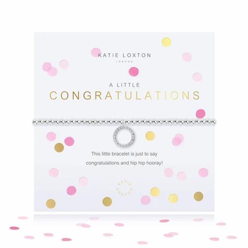 Katie Loxton Confetti A Little Congratulations